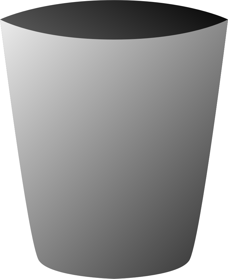 collection of can. Garbage clipart wastebin