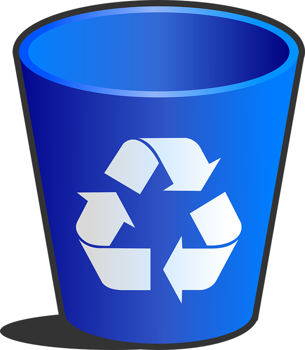 Images of recycling bins. Garbage clipart clip art