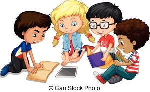 Group clipart group work. Free cliparts download clip