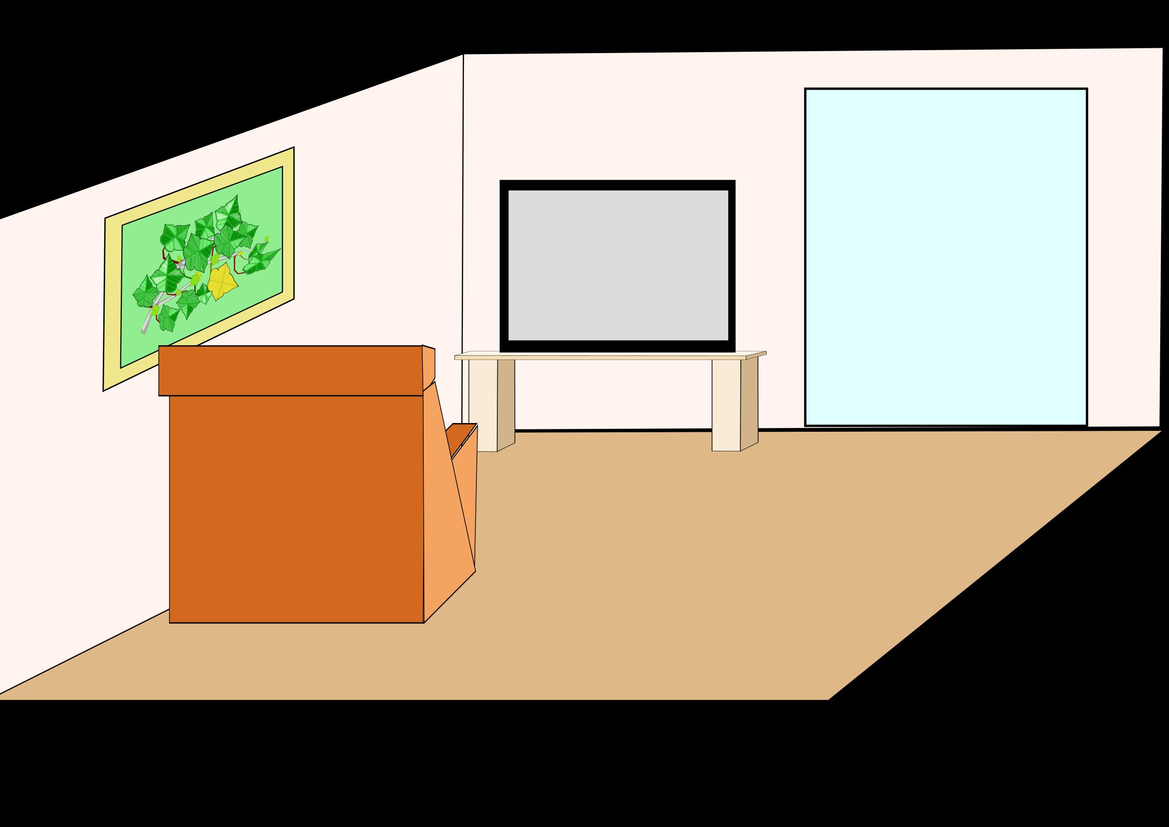 Floor clipart cartoon. House interior at getdrawings