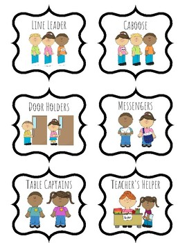 Jobs clipart teacher. Classroom job worksheets teaching
