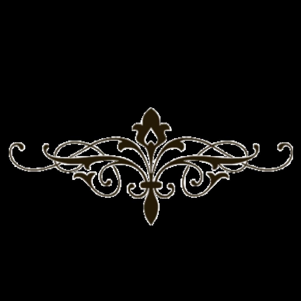 Lines flower hatenylo com. Decorative clipart fancy