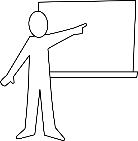 Design clipart english. Image of classroom black