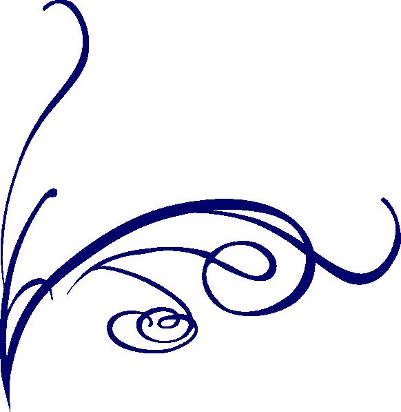 Lines decorative blue png. Line clipart fancy