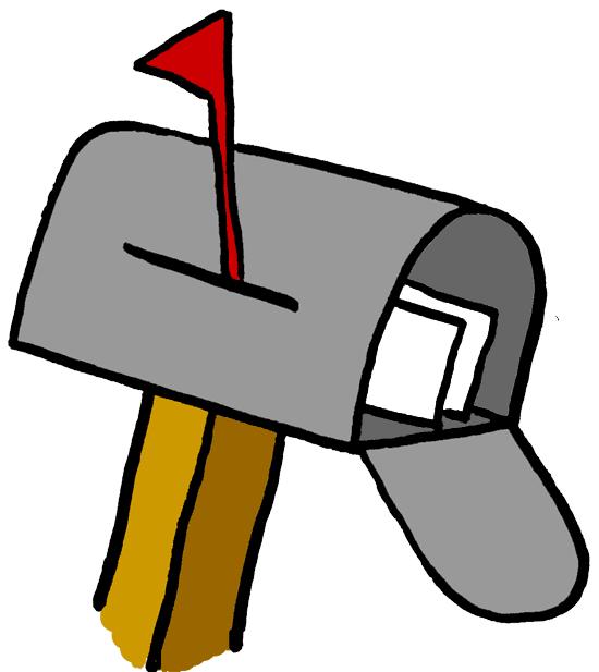 Zamora amanda information mail. Mailbox clipart classroom