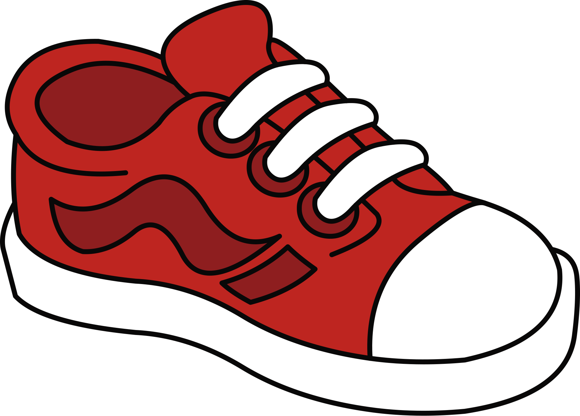 tenis color pinterest. Jacket clipart shoe