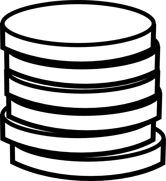 Clipart money black and white. Coin panda free images
