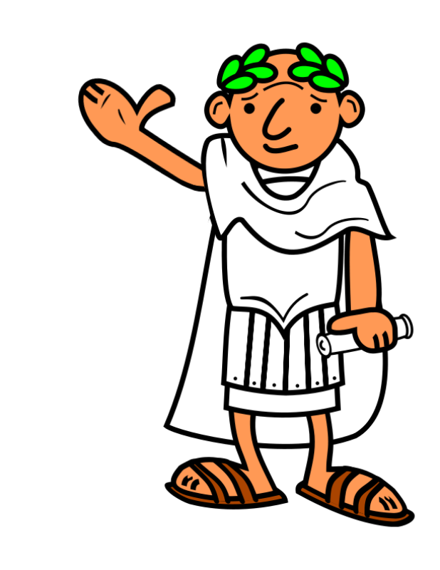 Respect clipart middle childhood. Roman emperor free printables