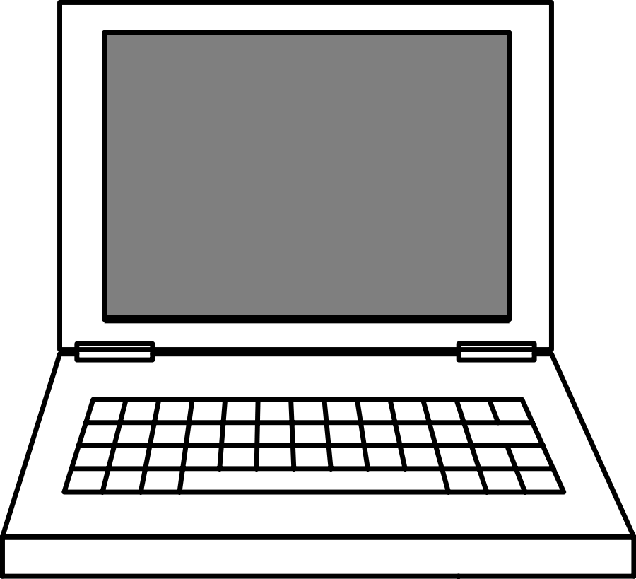 Computer clipart computer monitor. Laptop pictures free images