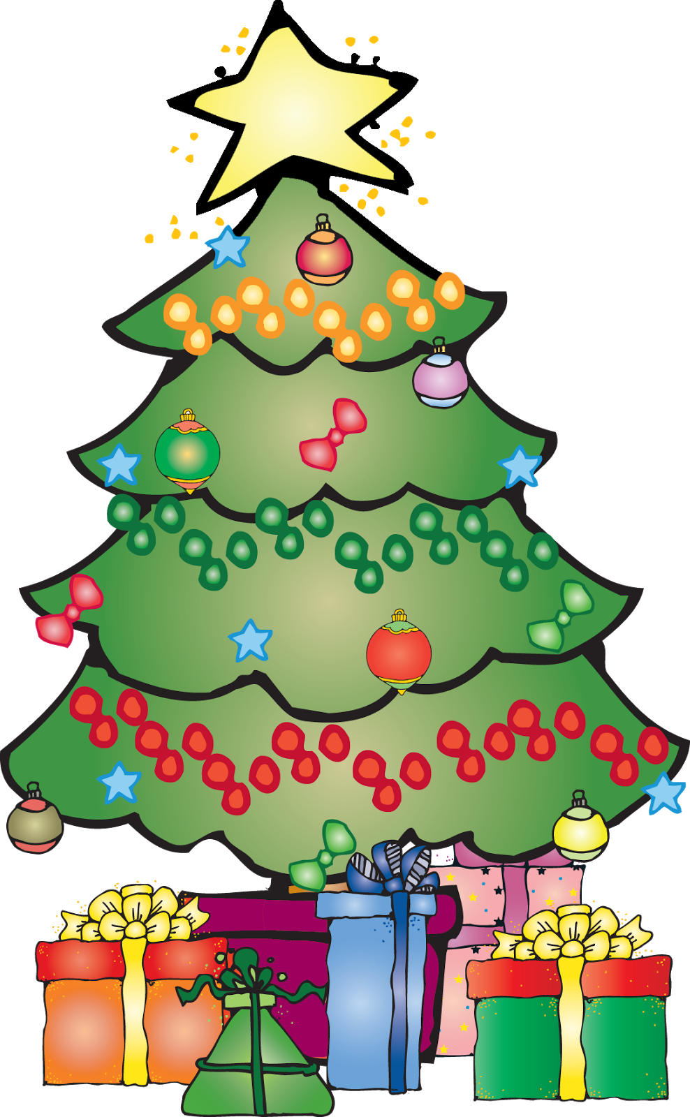 Preschool clipart christmas. Melonheadz freebies google illustration