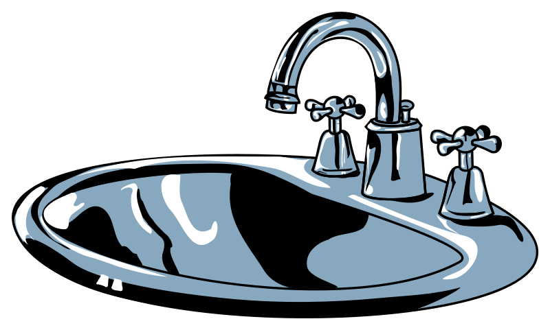 collection of faucet. Classroom clipart sink