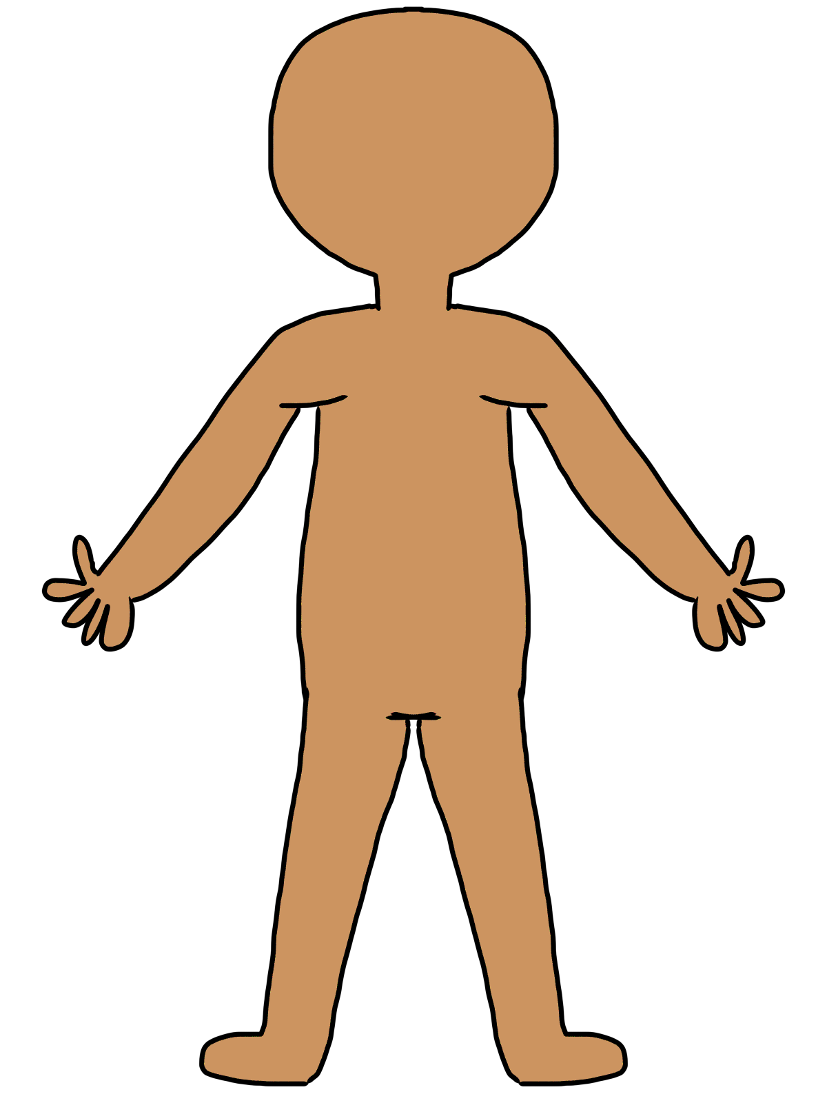 Kid s body pictures. Classroom clipart sink