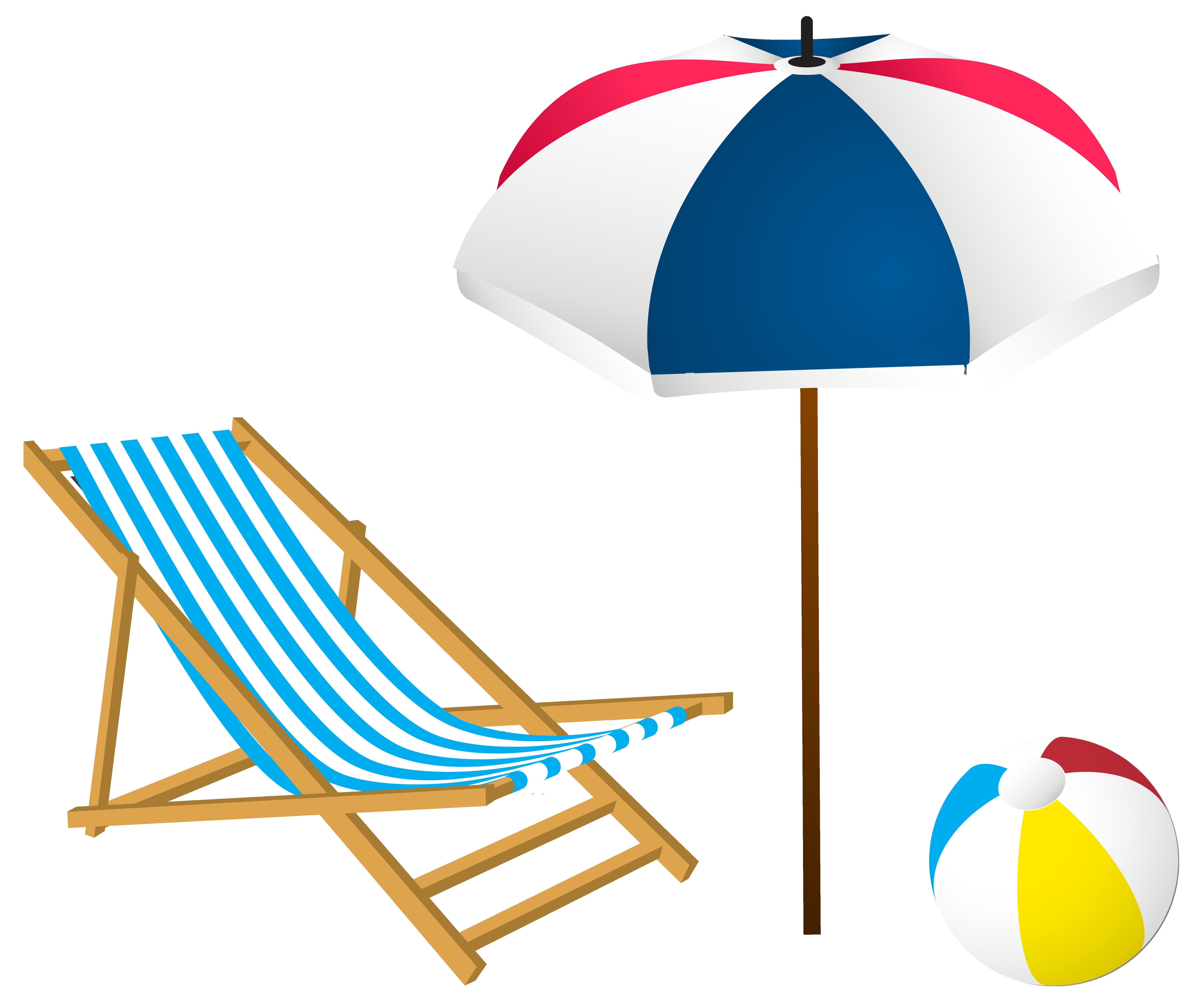 Clipart Chair Beach Clipart Chair Beach Transparent Free