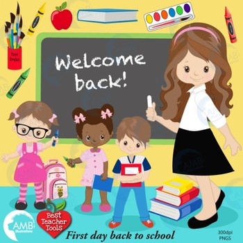 Planner clipart teacher tools. Classroom back to school