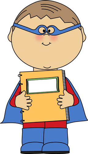 This page has free. Student clipart superhero