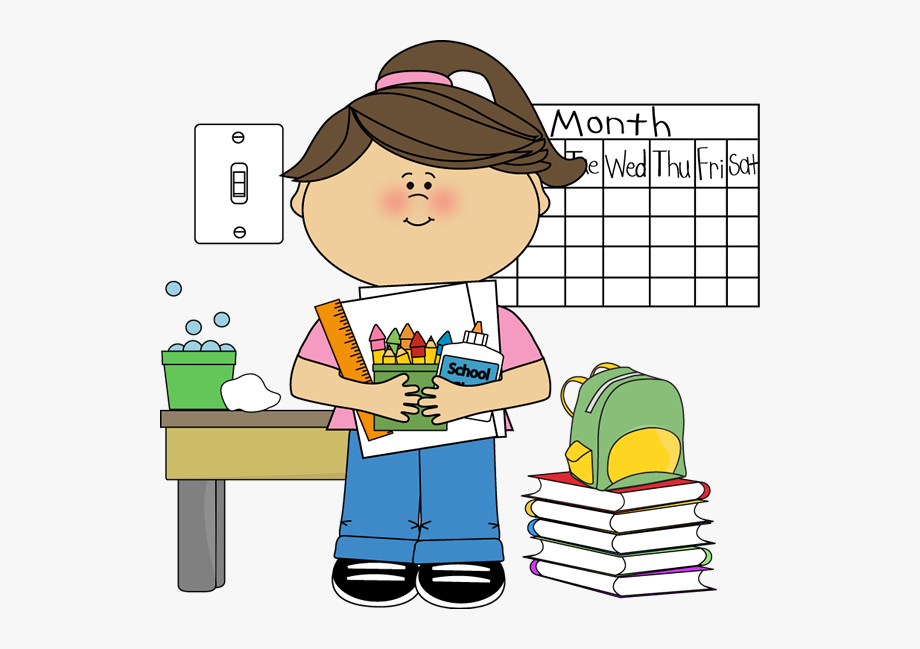 Desk clipart clean up. Teacher clip art classroom