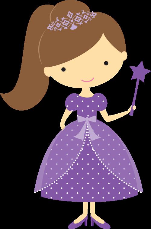 Princess clipart princess party. Princesinhas minus personatges gent