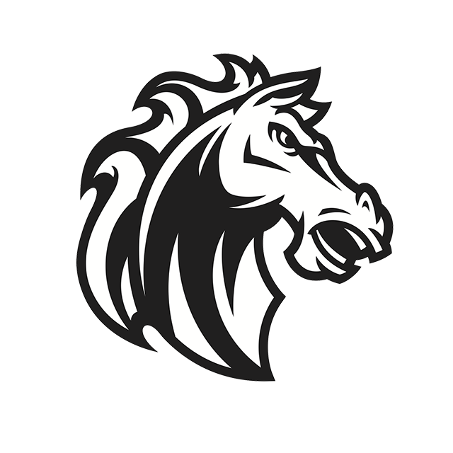 Horse png transparent image. Mustang clipart dust trail