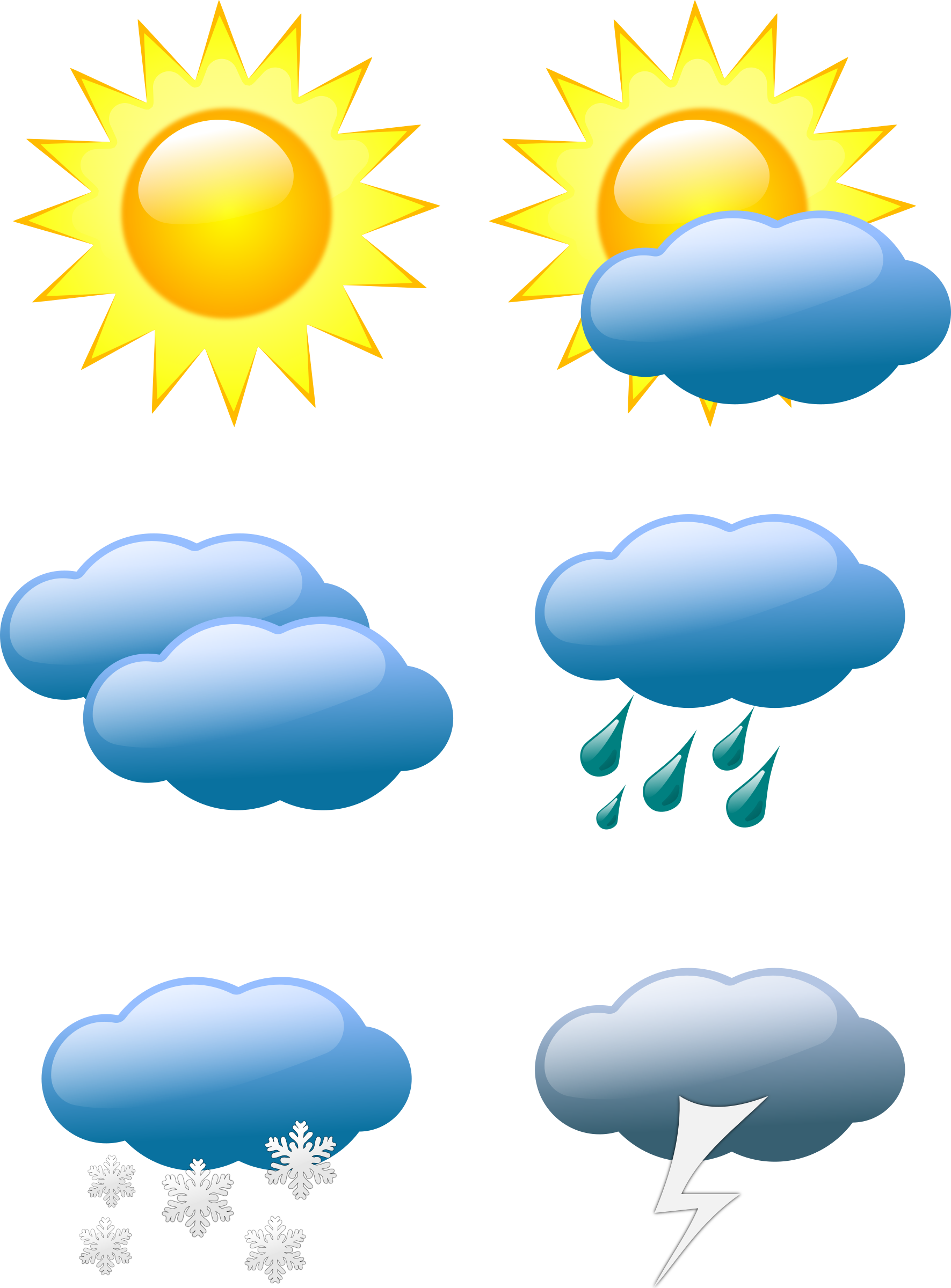 Symbols by sivvus on. Lake clipart sunny weather