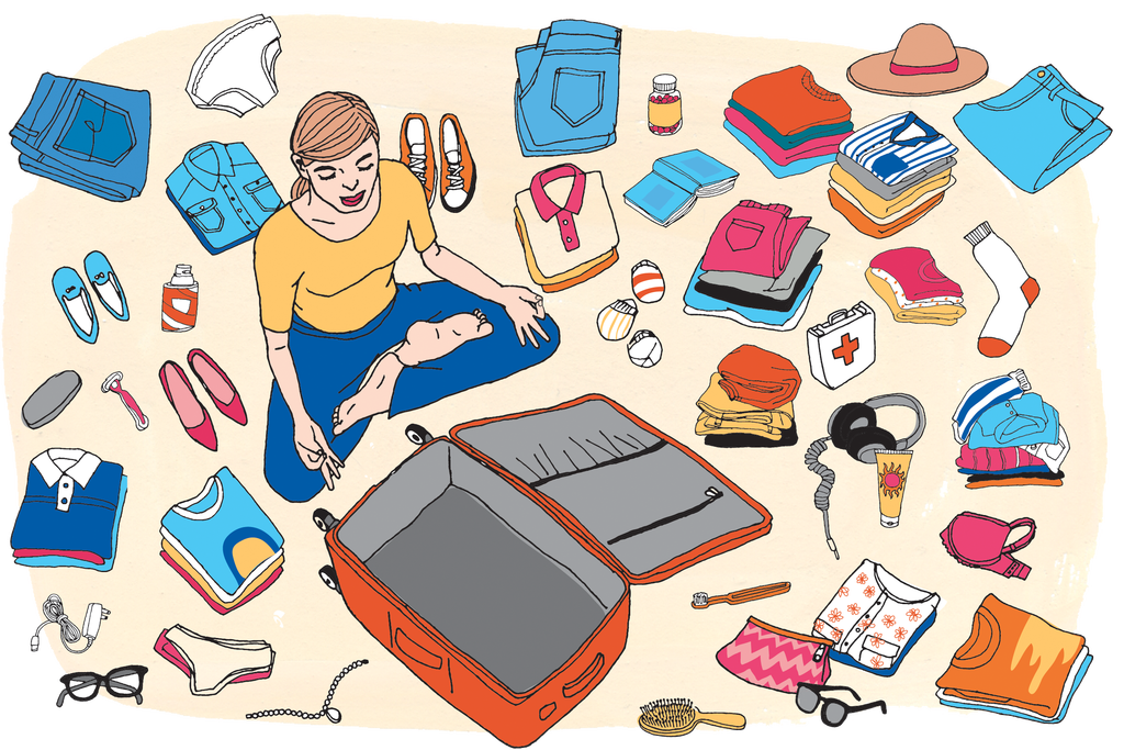 How to pack a. Worry clipart survival gear