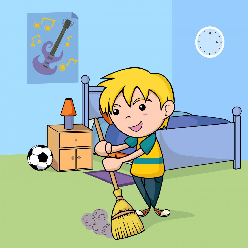 Bedroom kids as well. Clean clipart bed room