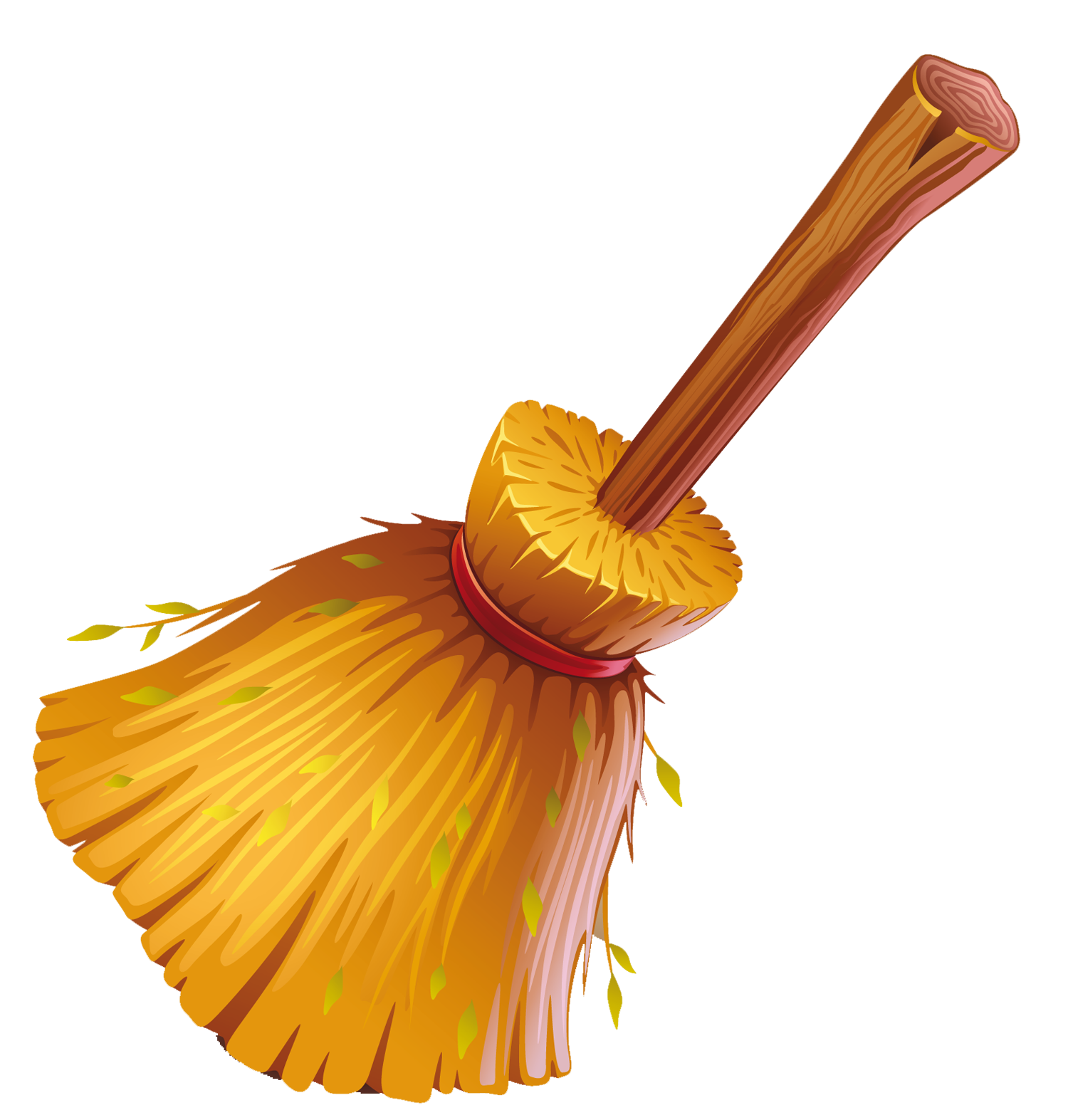 Broom clipart. Golden ner tamid goldenbroomclipart