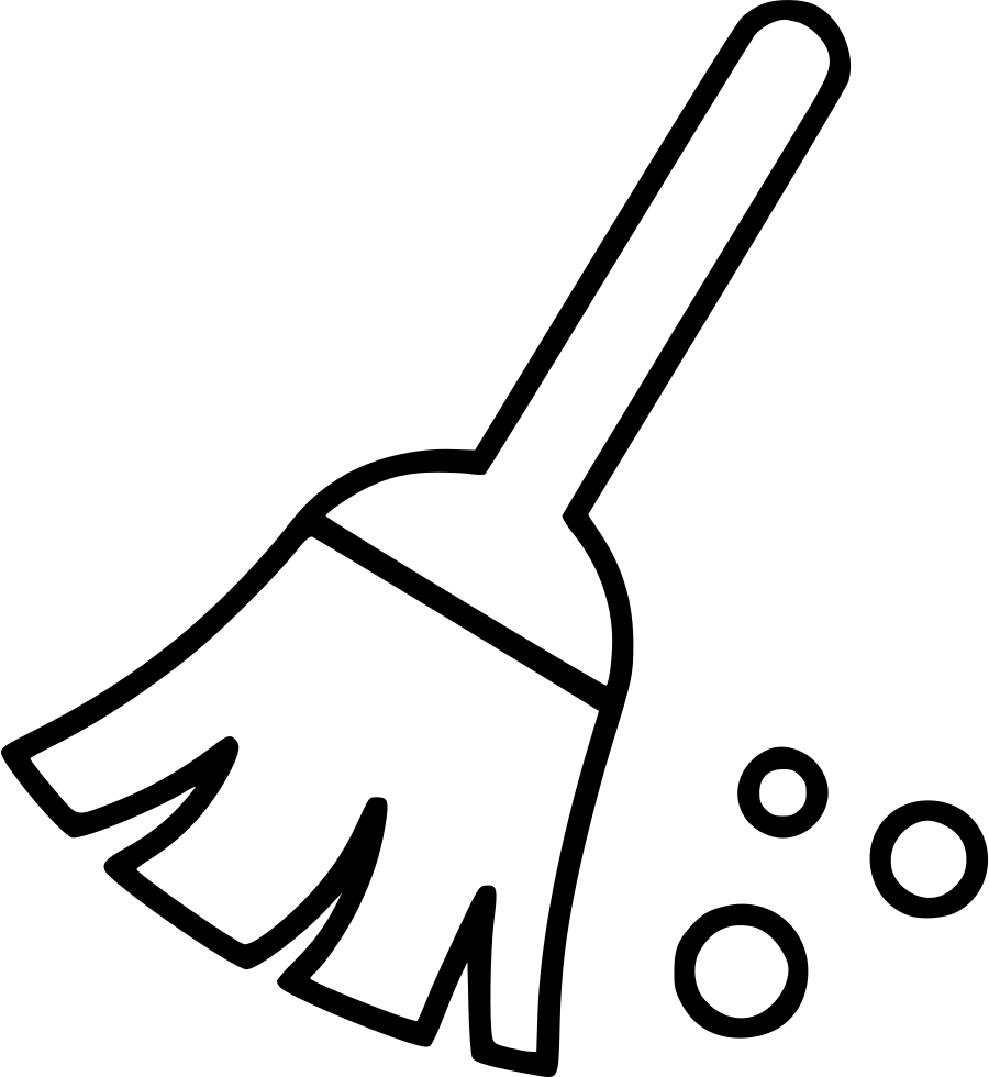 Cleaning sweep office svg. Clean clipart broom