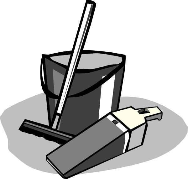 Red clip art at. Clean clipart bucket