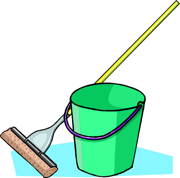 Mop and clip art. Clean clipart bucket