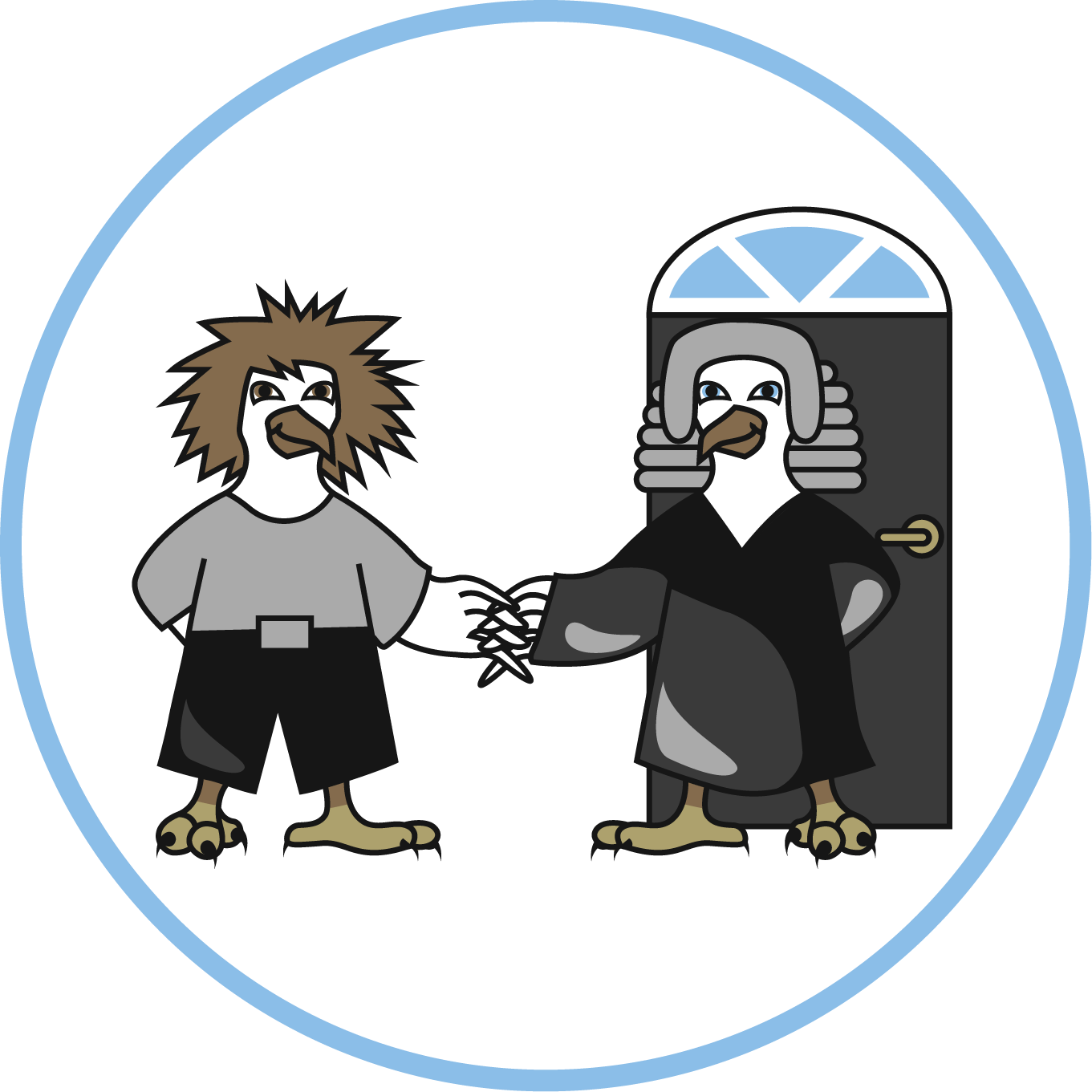 Neighborlegaleaglewithroundpng png neighbours and. Worry clipart psychological abuse
