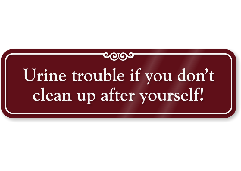 Up after yourself humorous. Clean clipart clean bathroom