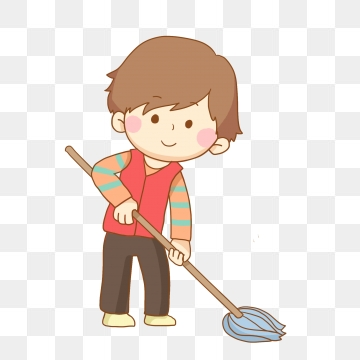 Cleaning clipart washing floor. Png vector psd and