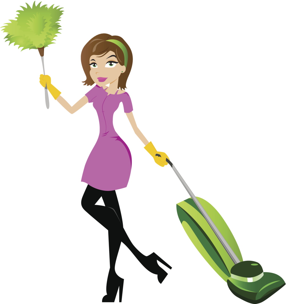 Huggins cleaning service llc. Maid clipart cleanliness