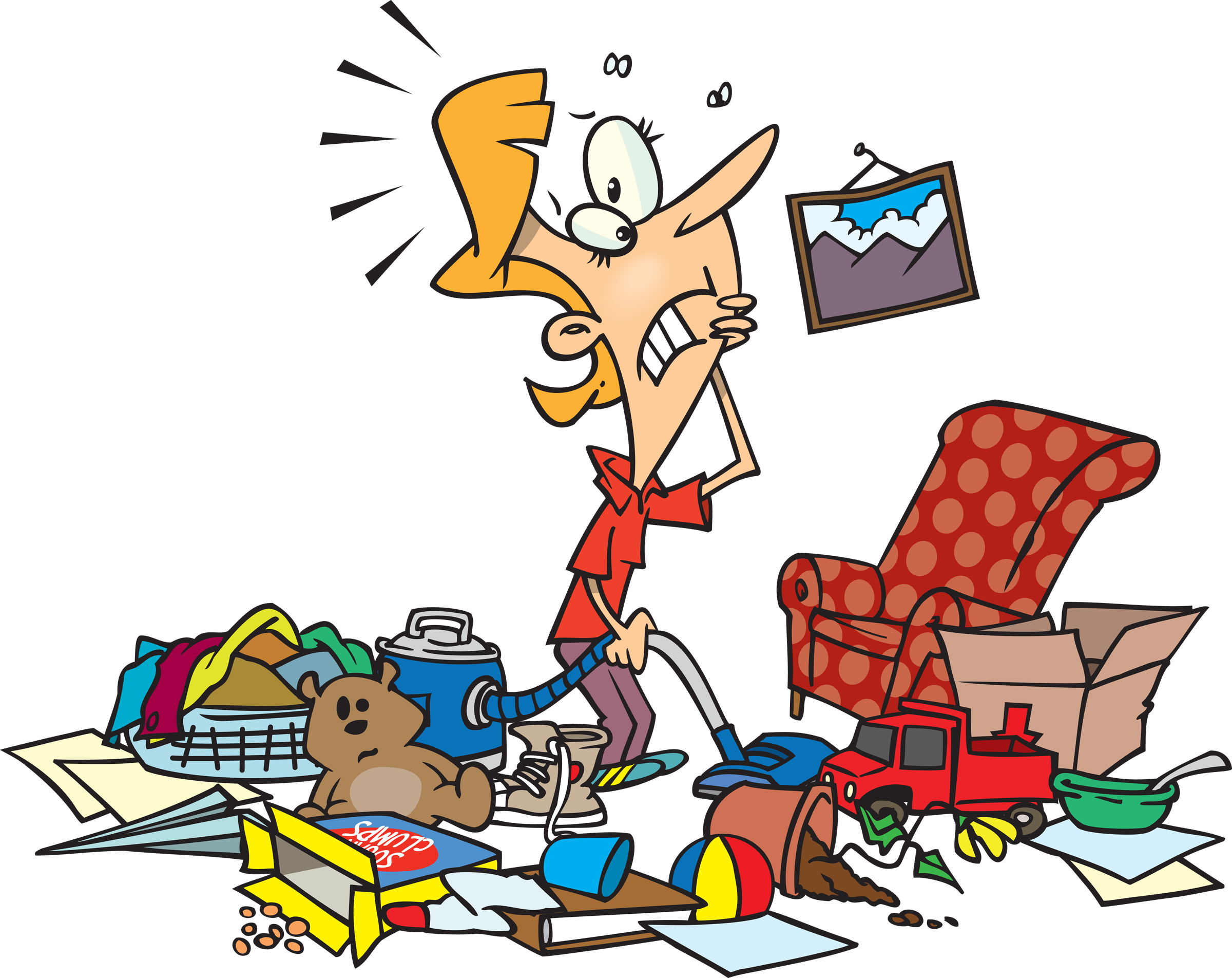 Free clean home cliparts. Housekeeping clipart mess
