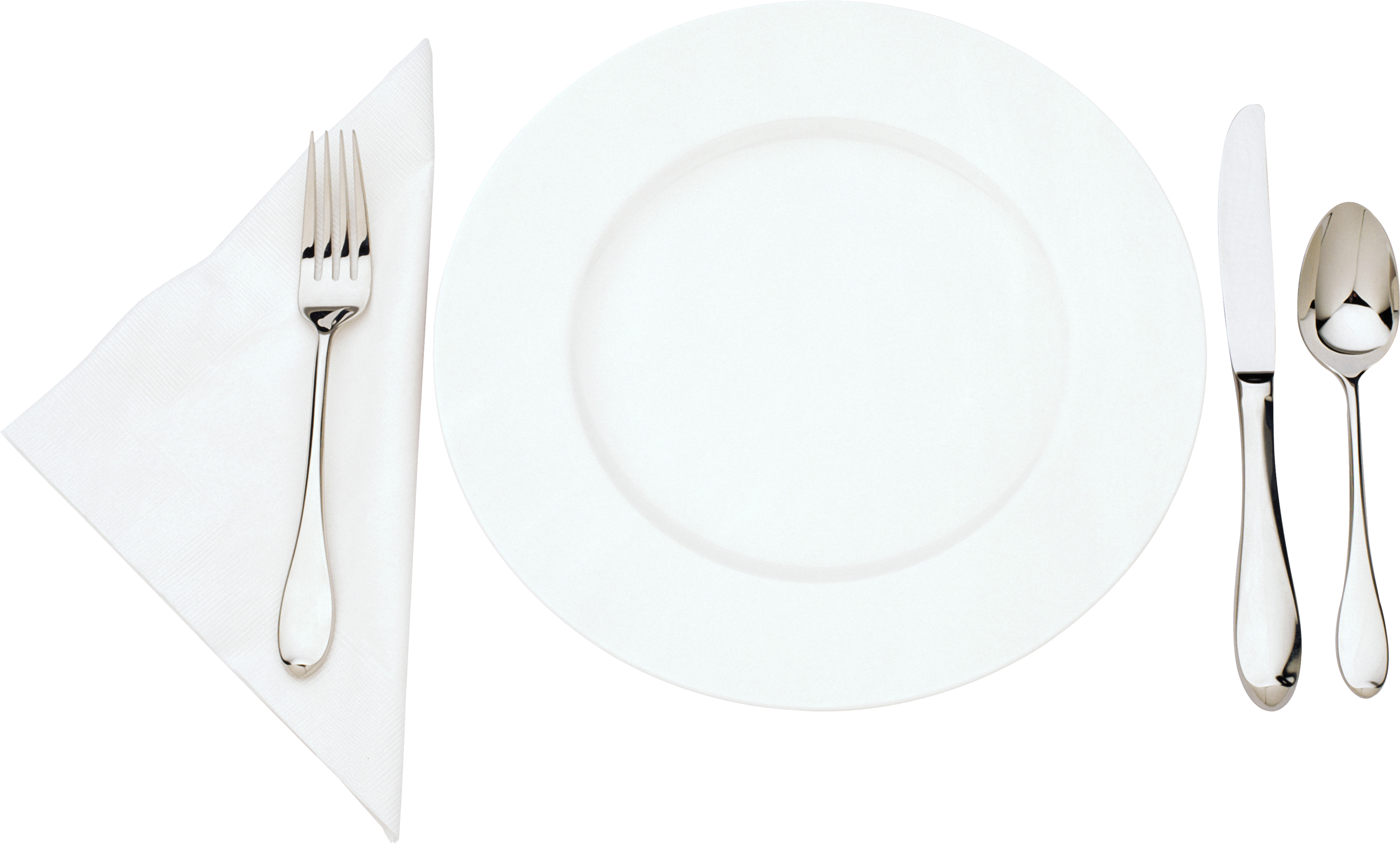 Fork clipart holding. Plates with forks and