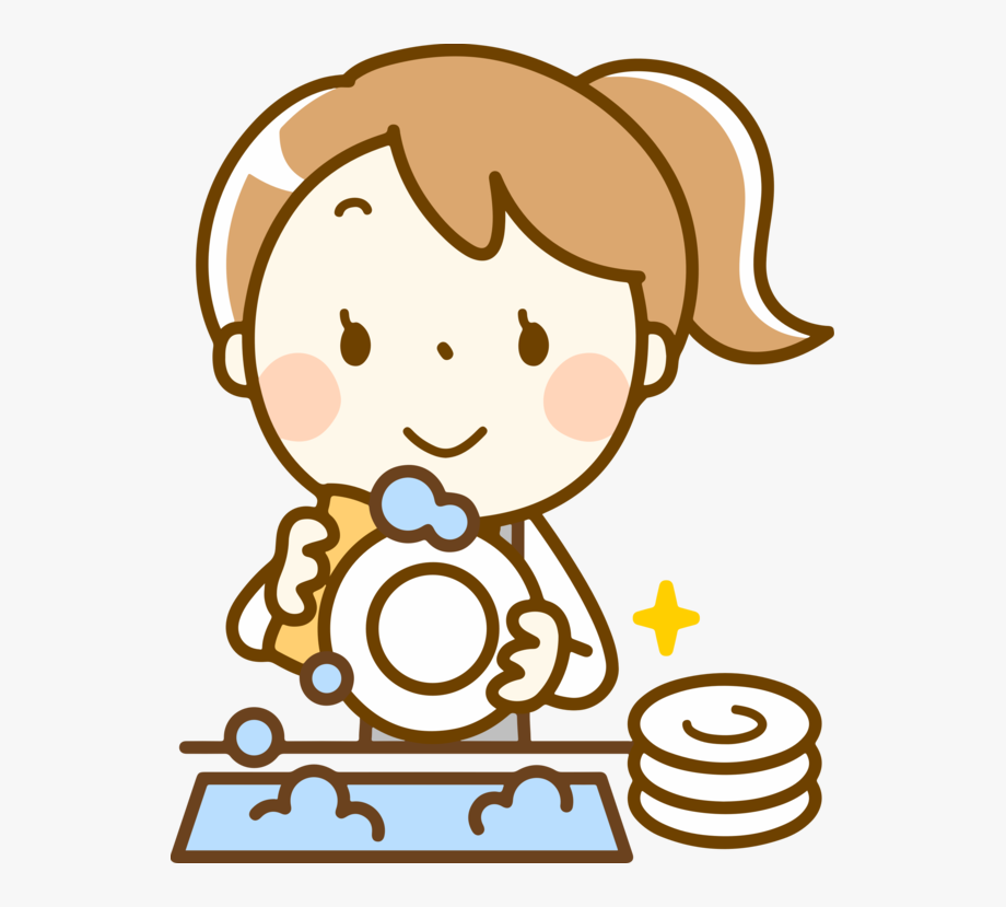 Clip art washing dishes. Dishwasher clipart clean plate