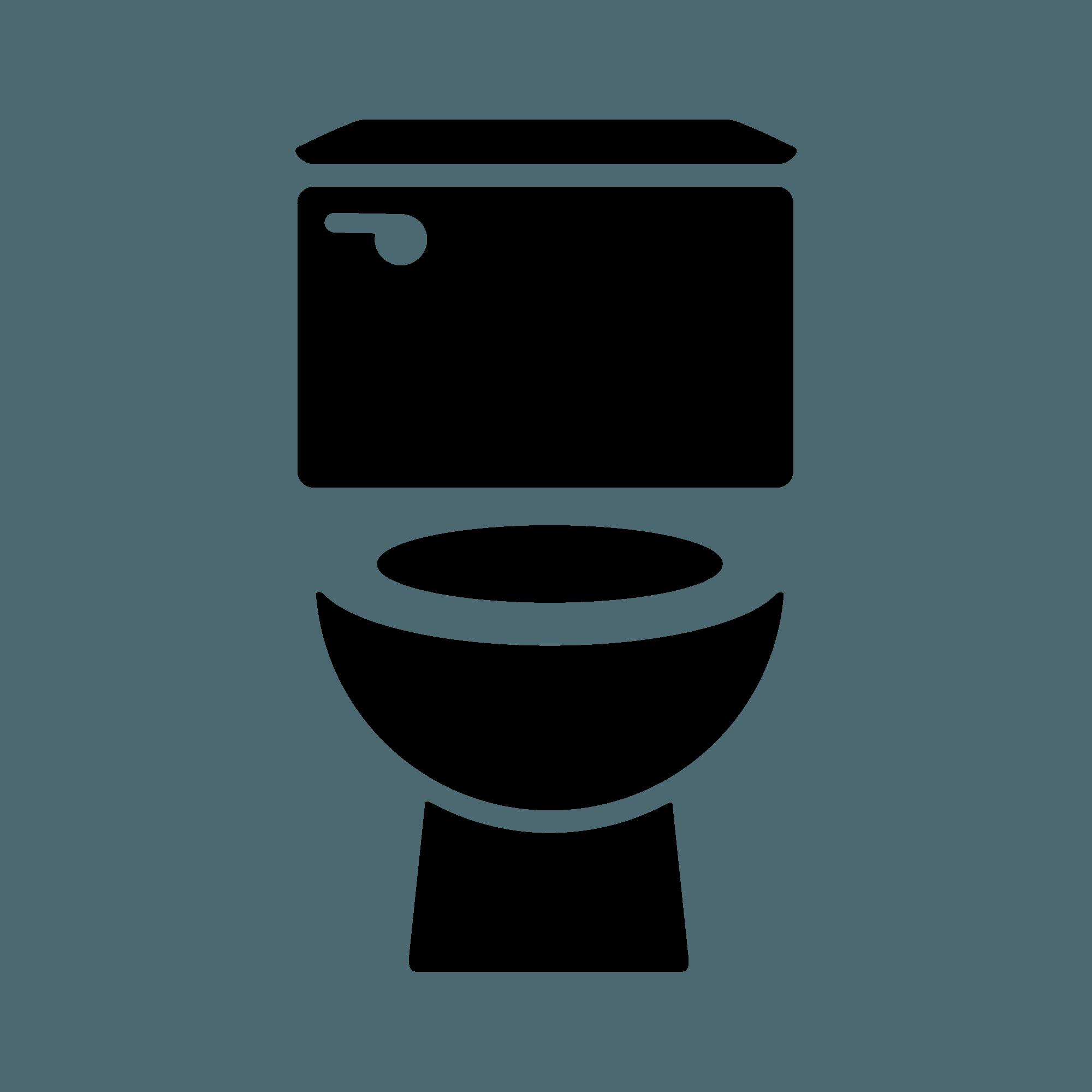 Bathroom toilet icon drain. Clean clipart clean restroom