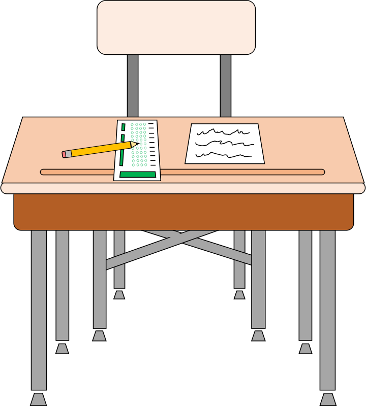 collection of free. Desk clipart classroom
