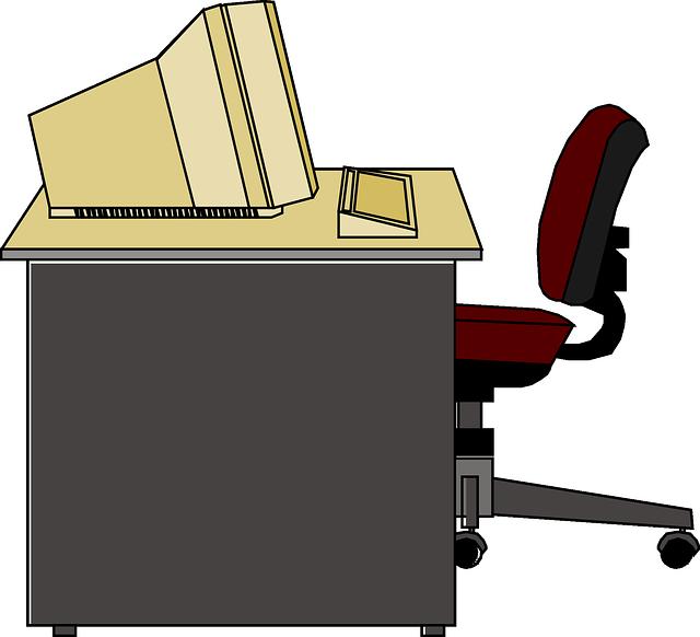 clipart desk teacher's