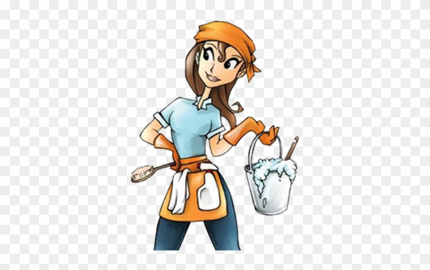 Housekeeping clipart clean hand. Cleaning lady services png