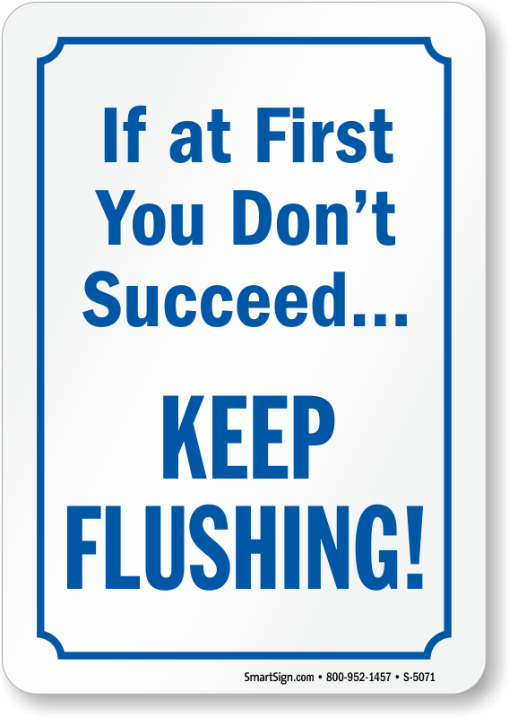 After using bathroom signs. Clipart toilet flush toilet