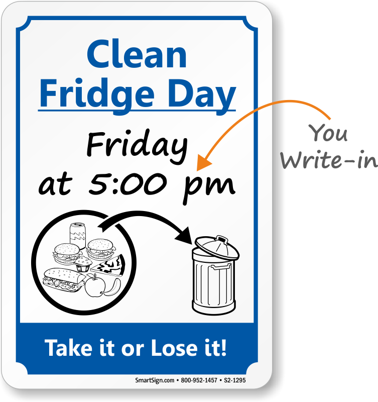 Kitchen signs keep courtesy. Clean clipart comfort room