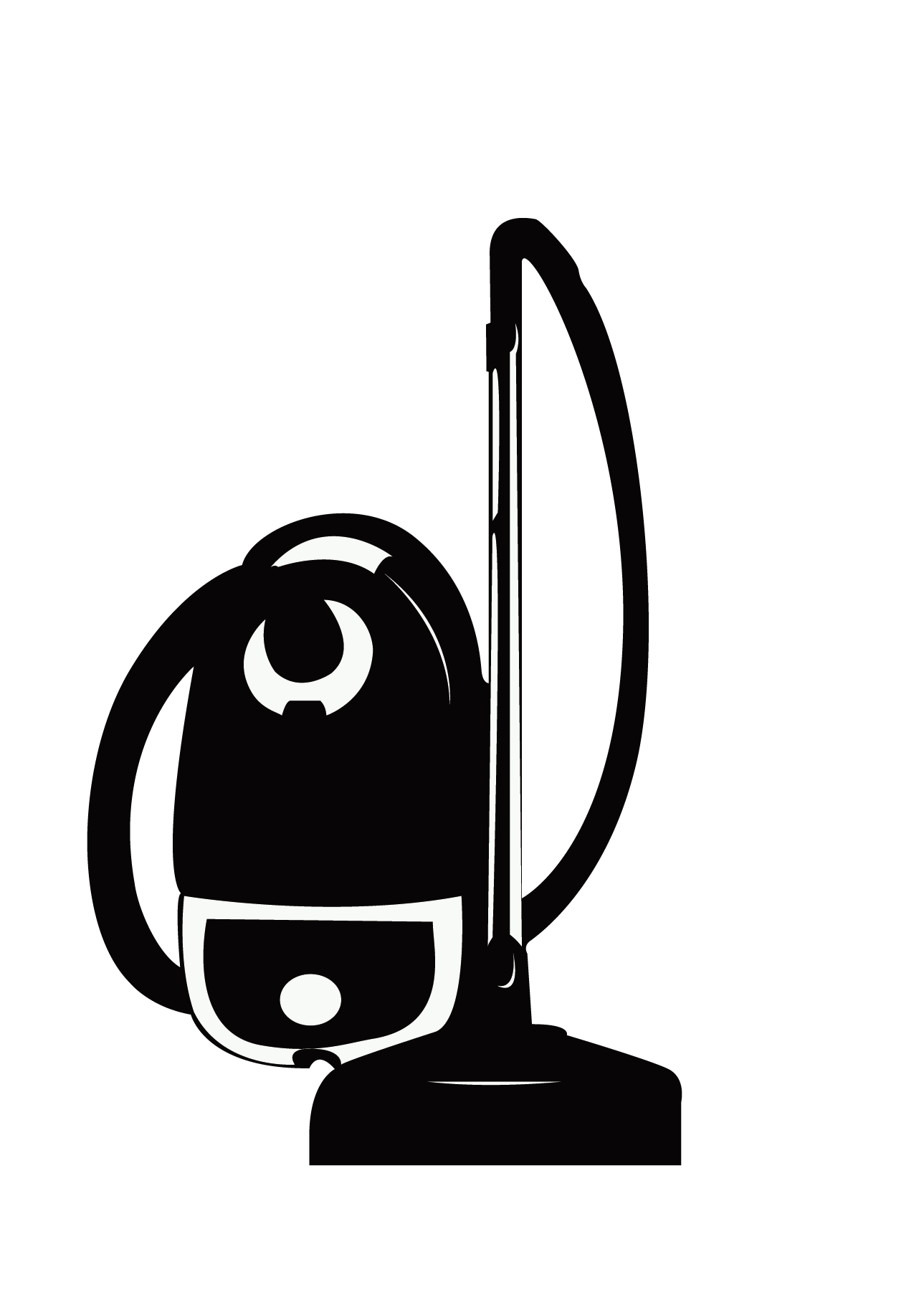 Dust clipart vacuum. Cleaner silhouette at getdrawings