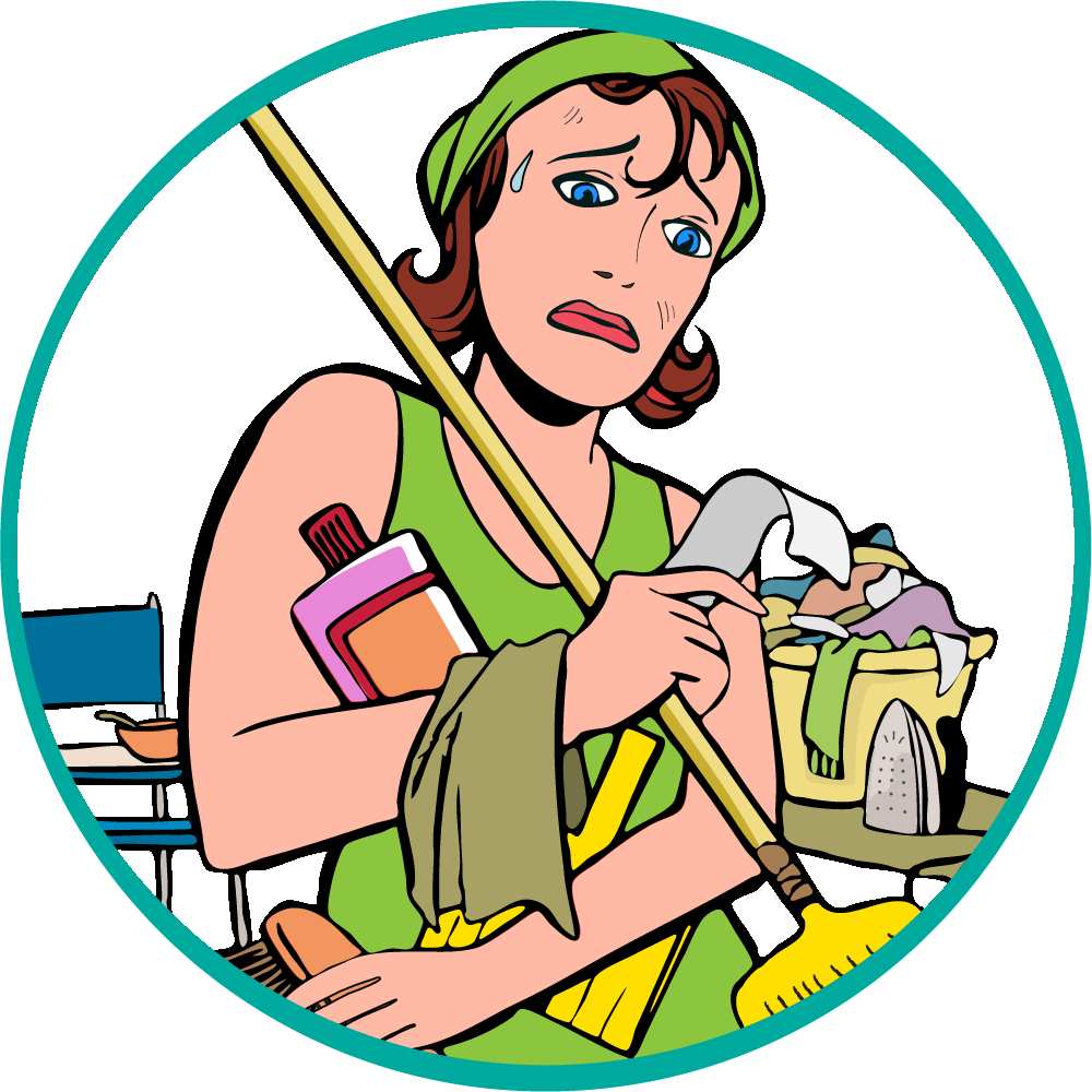 Closet clipart tidy person. Daily all purpose cleaner