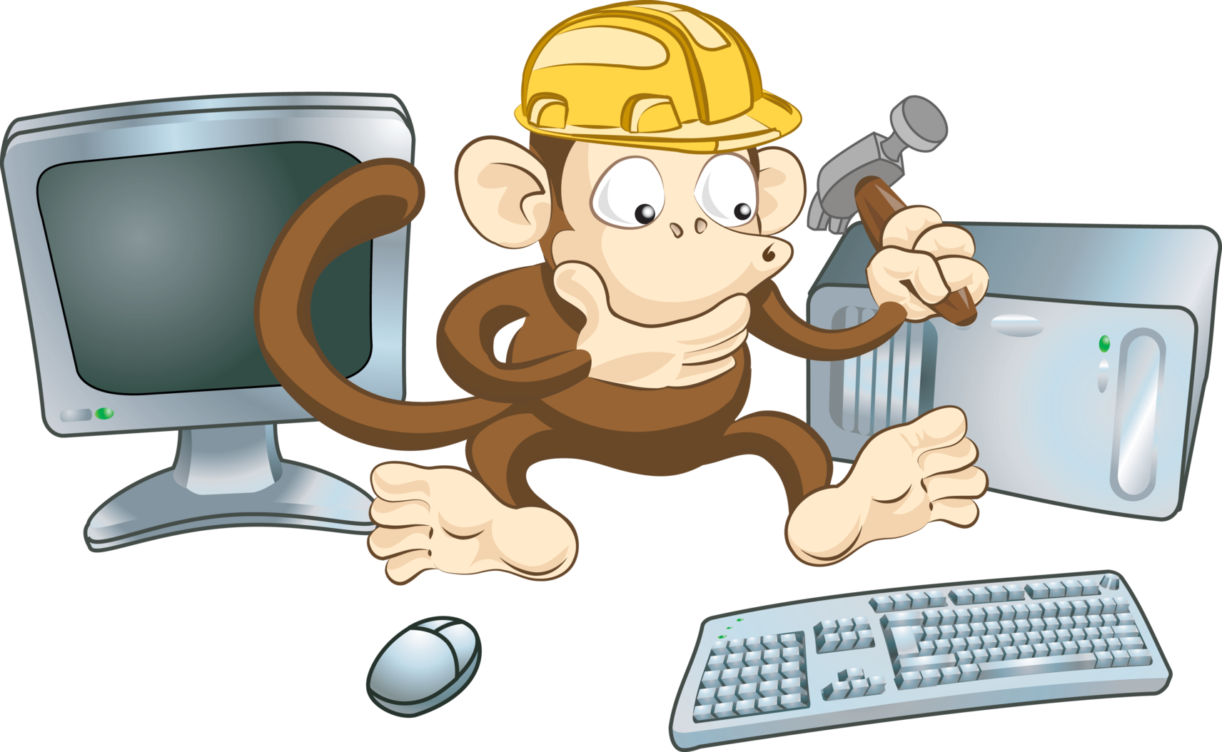 Why is pc cleaning. Computer clipart care