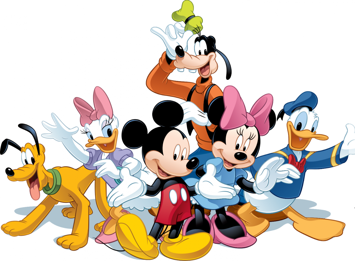 Mickey mouse friends png. Phone clipart friend