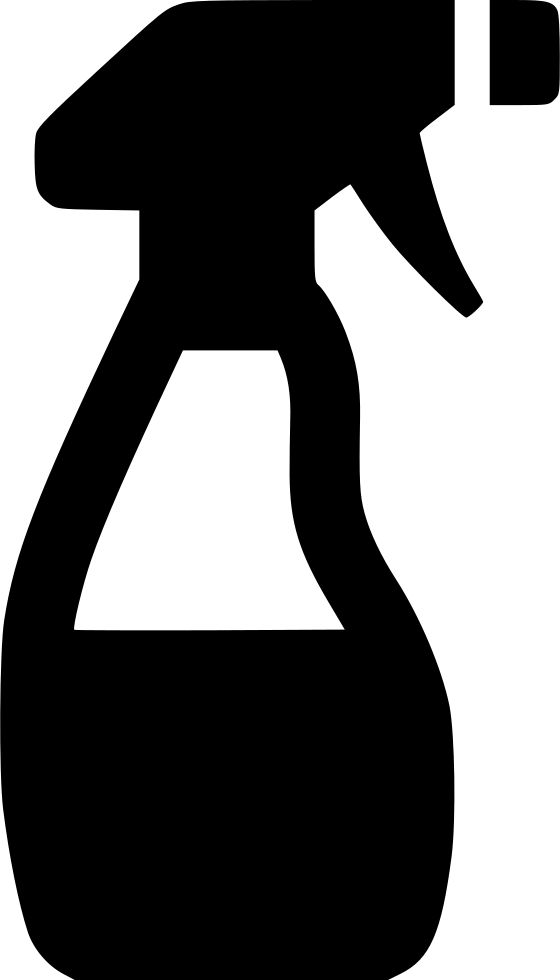 Cleaning clipart black and white. Spray bottle glass cleaner