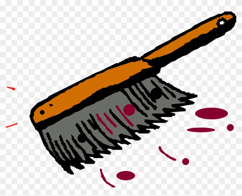 Cleaning sweeping brush clip. Dust clipart dust cleaner