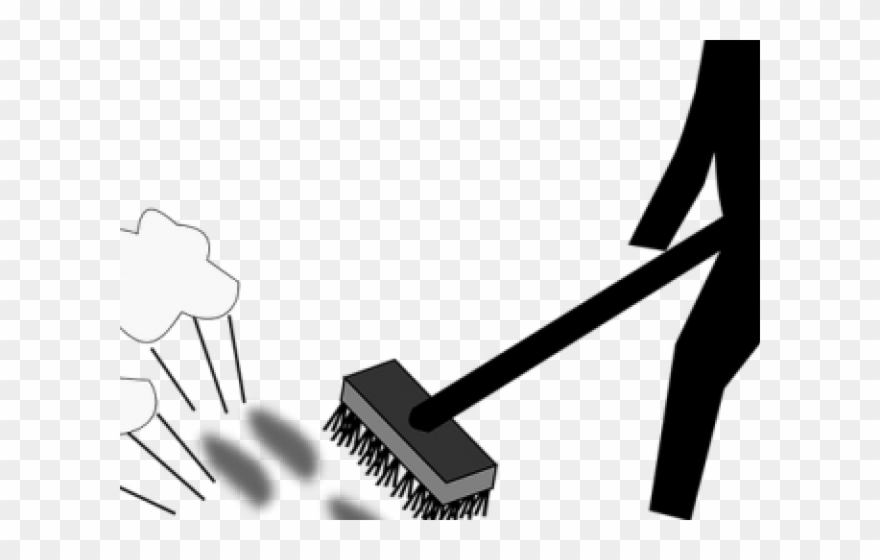 Cleaning barrer el polvo. Dust clipart dust cleaner