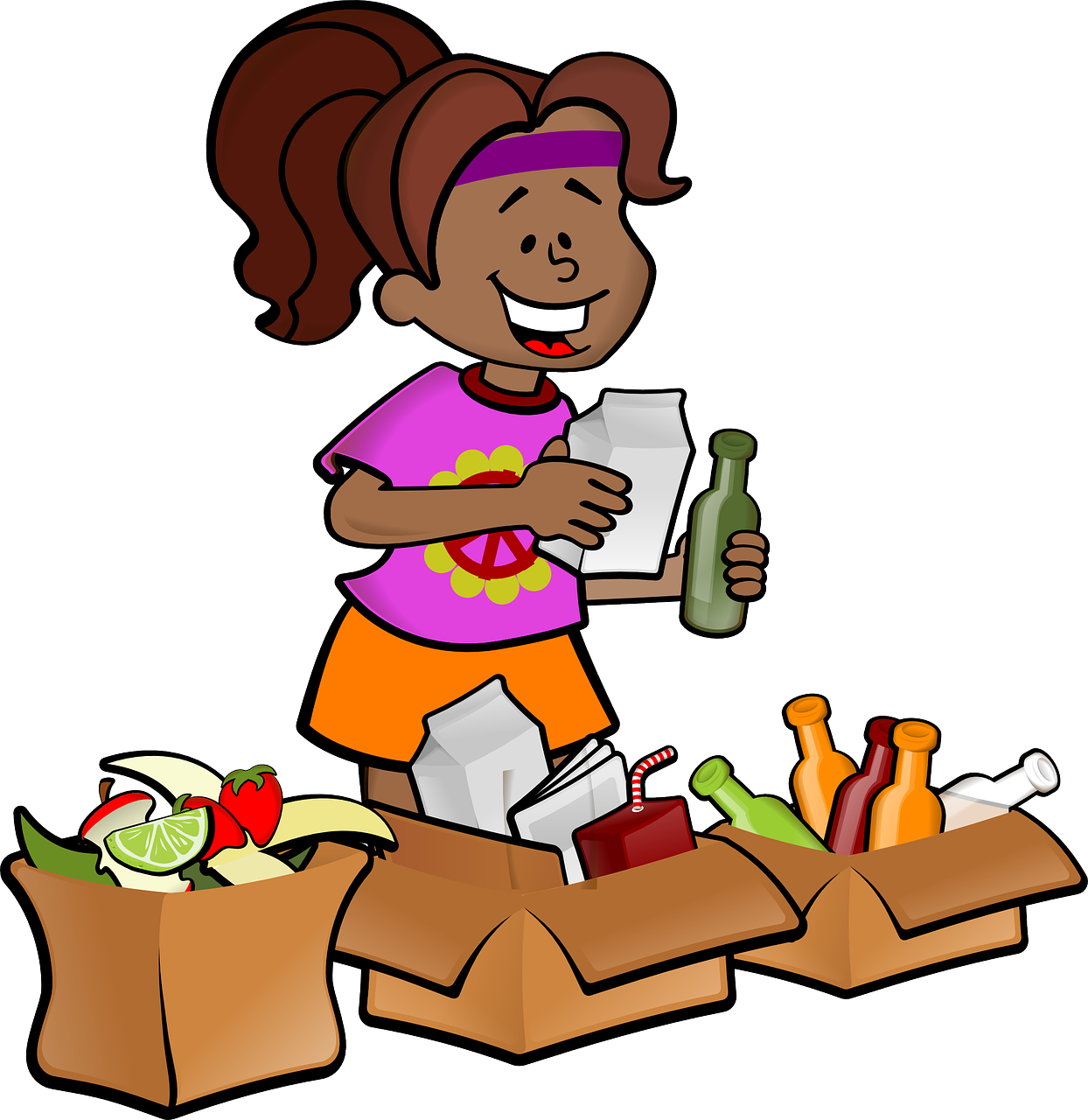 Clipart fall october. Clean up city of